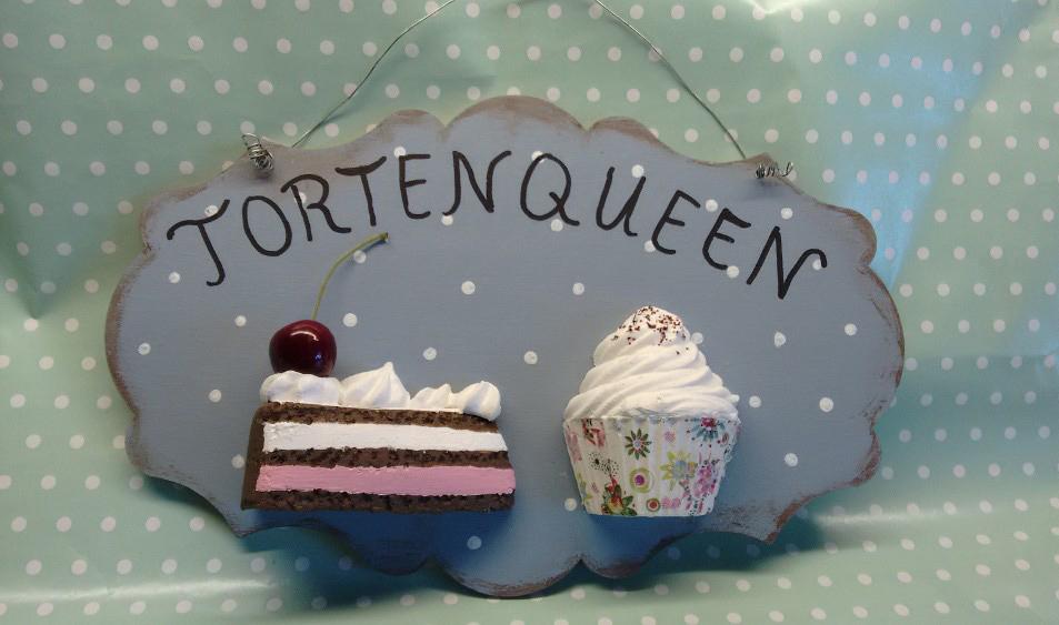 Cupcake-Kreationen aus Gips von Frau Bettina Zimmermann