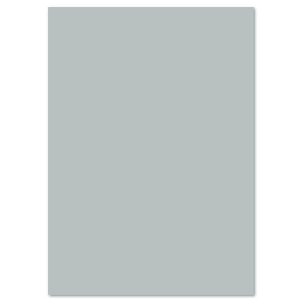 Tonkarton 220g/m² 50x70cm 25 Bl. silber matt