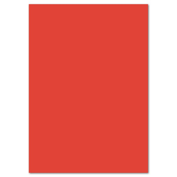 Tonkarton 220g/m² DIN A4 100 Bl. carminrot