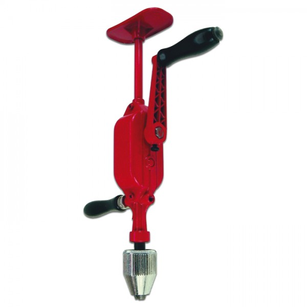 Brustbohrmaschine Stahl 2-Gang Bohrfutter 0-13mm