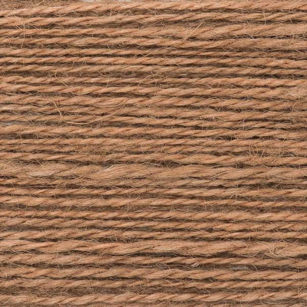 Creative Nature 50g ca. 100m hellbraun Nadel Stricken Nr. 3,5, 100% Hanf