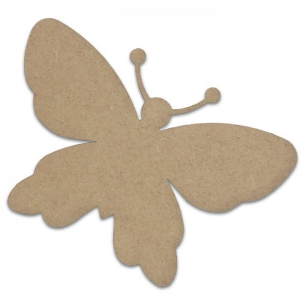 Schmetterling MDF 3mm 21x14,5cm