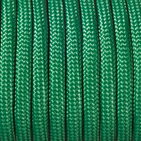 Paracord-Garn rund 4mm 4m grün Makramee-Knüpfgarn, 60% Polypropylen, 40% Polyester