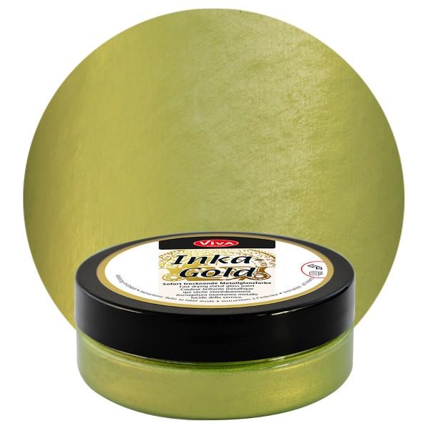 Inka-Gold Dekorfarbe pastös 62,5g grün-gelb