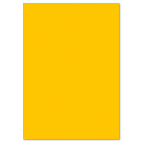 Tonpapier 130g/m² 50x70cm 10 Bl. goldgelb