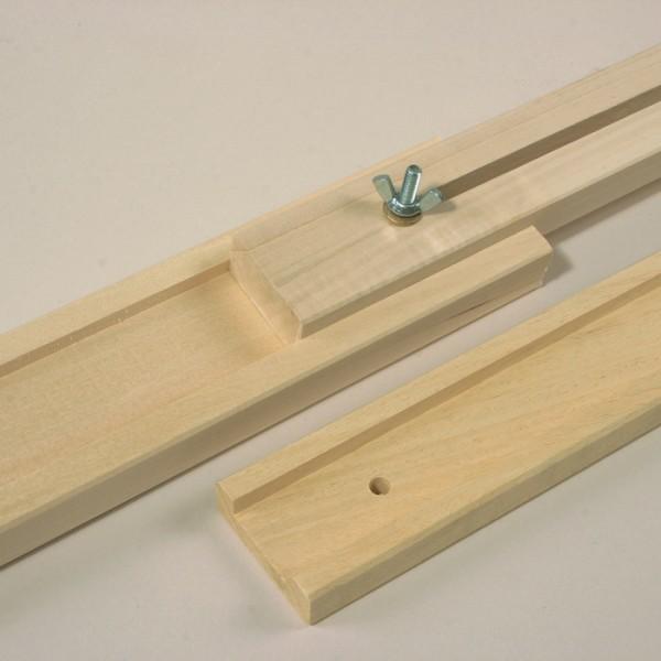 Verbindungsstücke für Seidenspannrahmen 2 St. Holz, für Art.-Nr. 50902570 & 50902700