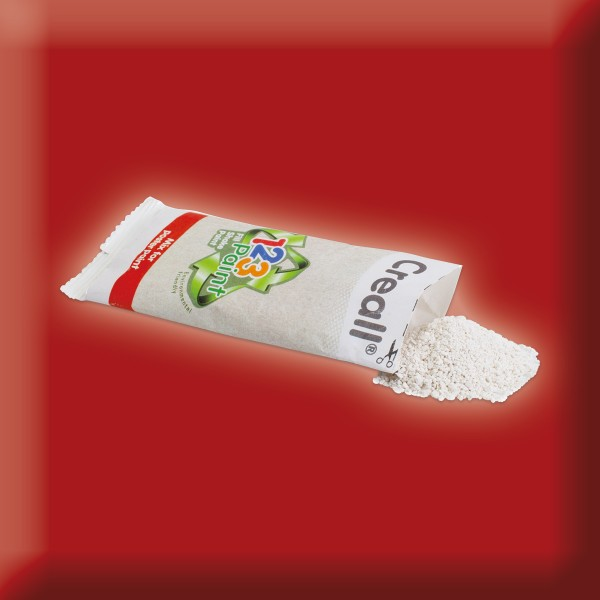 Creall 1-2-3-Paint Nachfüllbeutel 3 St. à 25g rot Plakatfarbe in Pulverform