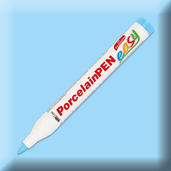 PorcelainPen easy mit Pinselspitze 1-3mm hellblau Porzellanmalstift