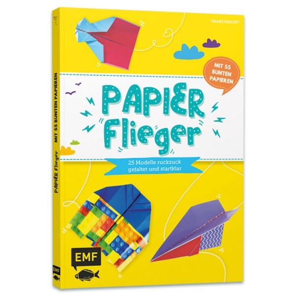 Buch - Papierflieger: 25 Modelle ruckzuck gefaltet & startklar 120 Seiten, 29,7x22cm, Softcover, ab