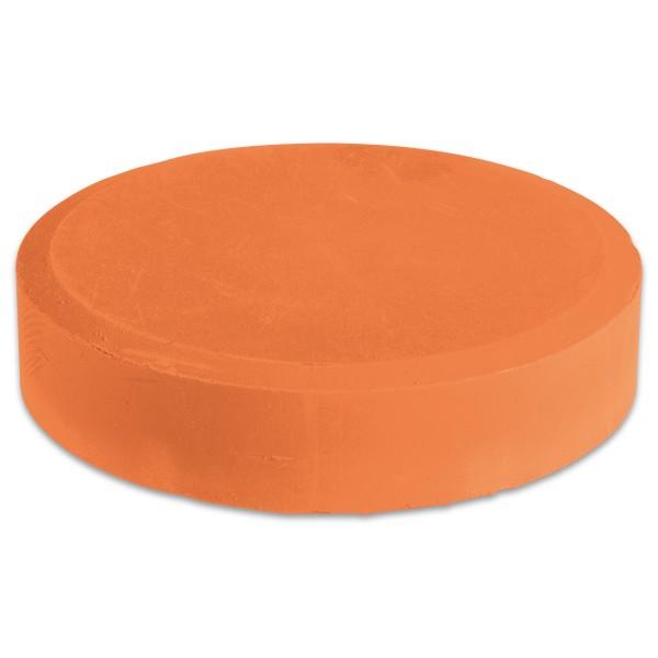 Farbtablette Ø 55mm kadmiumorange Wasserfarbe
