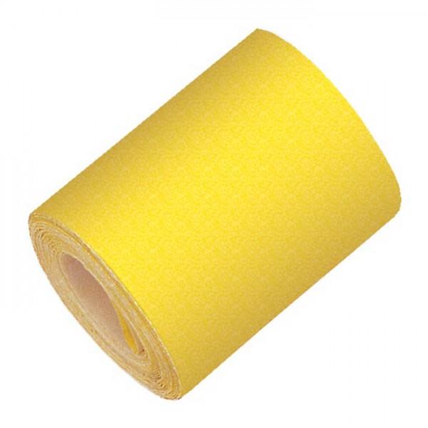 mako Schleifpapier Rolle 11cm 4,5m Körnung 100 Edelkorund, für lackierte Flächen