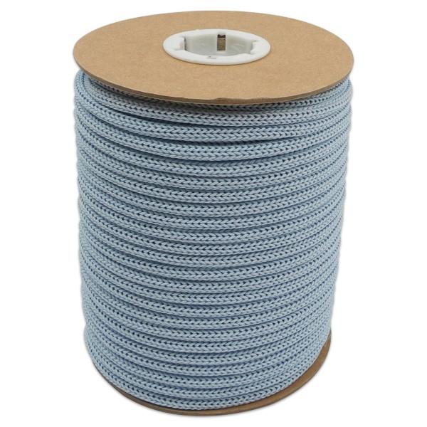 Makramee-Garn - Kordel aus Papier 4mm 30m hellblau aus recyceltem Material