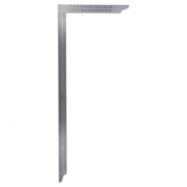 Zimmermannswinkel Stahl rostfrei 80cm mit Anreißlöchern
