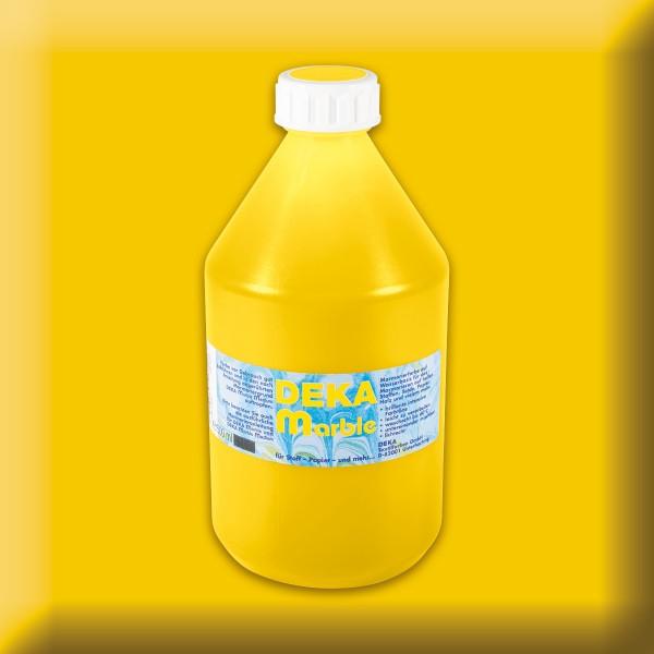 Deka-Marble Marmorierfarbe 500ml gelb