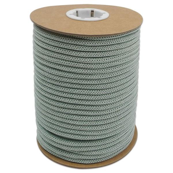 Makramee-Garn - Kordel aus Papier 4mm 30m mintgrün aus recyceltem Material