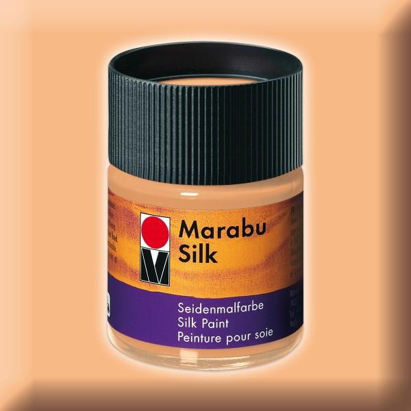 Marabu Silk 50ml apricot Seidenmalfarbe