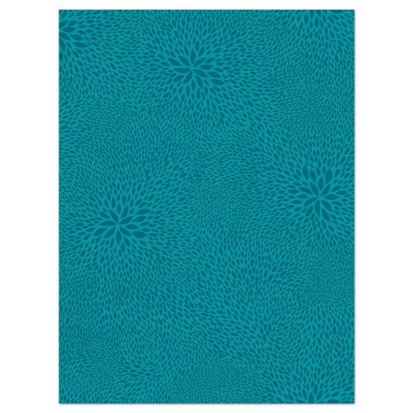 Decoupagepapier türkis gemustert von Décopatch, 30x40cm, 20g/m²