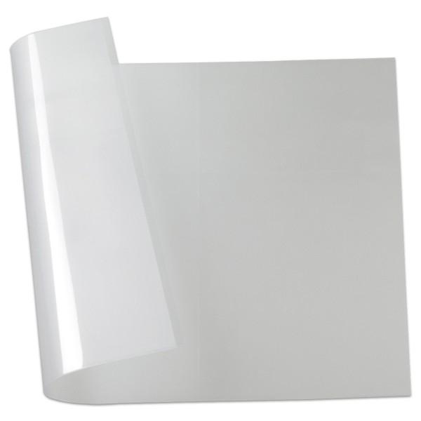 Effektfolie Sternenglanz 50x70cm milchig transparent 0,33mm, Kunststoff