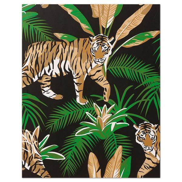 Malen Nach Zahlen 23x30cm Tiger