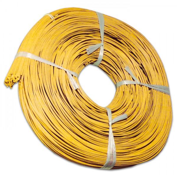 Peddigrohr 2,2mm 500g gebündelt gelb