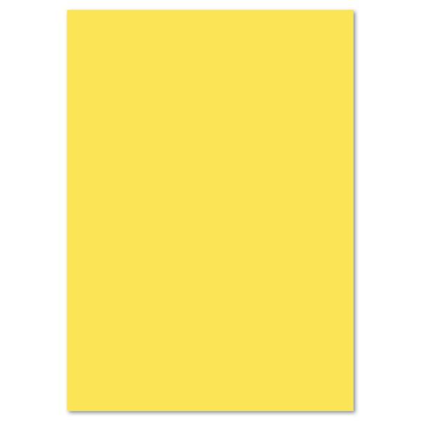 Tonkarton 220g/m² 50x70cm 25 Bl. zitronengelb