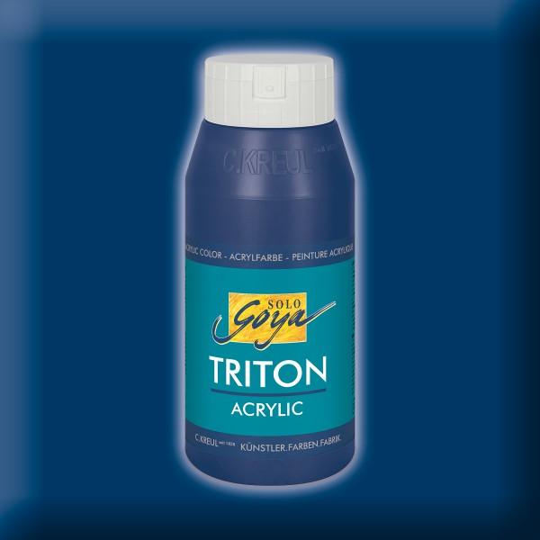 Triton Acrylfarbe 750ml dunkelblau