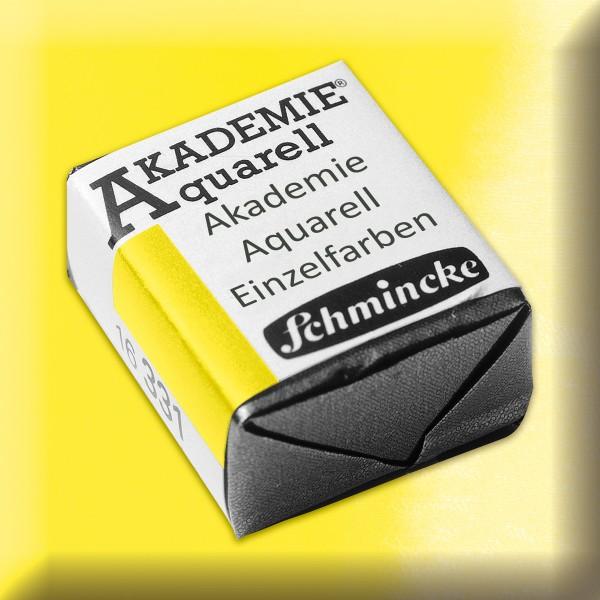 Akademie Aquarell 1,6ml hellgelb zitron ½ Näpfchen