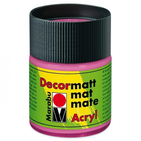Decorlack Acryl matt 50ml pink
