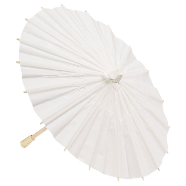 Dekoschirm Papier ca. 30cm weiß