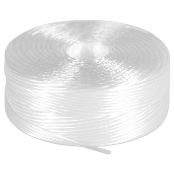 Nylonfaden 0,25mm 52m weiß z.B. für Rocailles, 100% Nylon