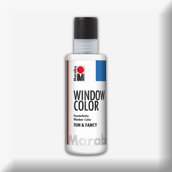 Marabu fun&fancy 80ml weiß Windowcolor