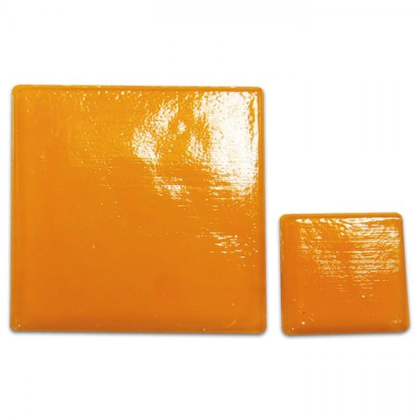 Glasmosaik Joy 10x10x4mm 200g orange ca. 290 Steine