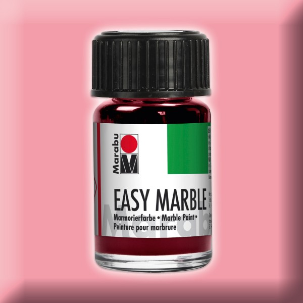 Easy Marble 15ml rosa Marmorierfarbe