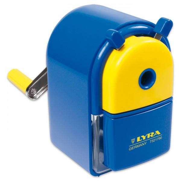 Lyra Spitzermaschine Kunststoff/Metall Ø 7-12mm inkl. Ersatzmesser