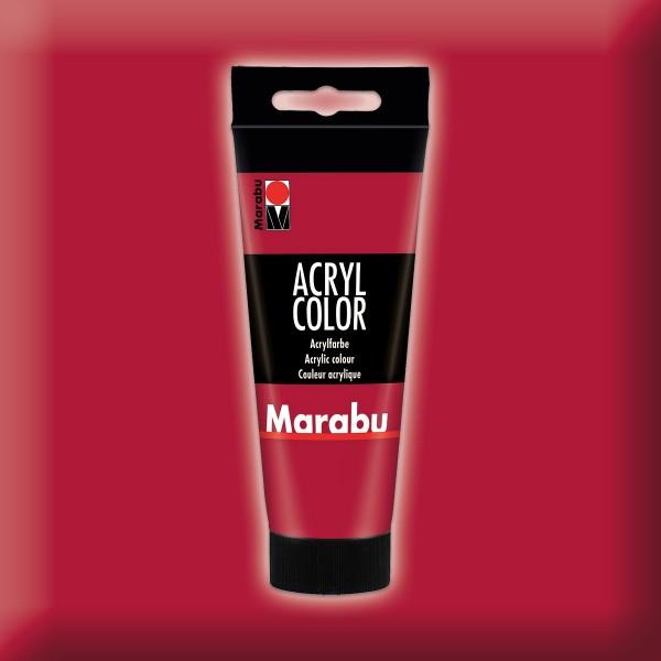 Marabu Acryl Color 100ml karminrot