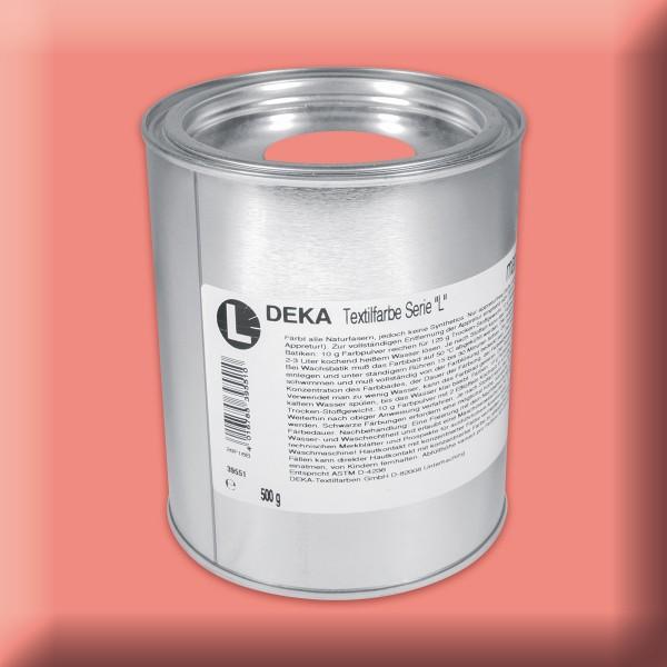 Deka-Serie L Textilfarbe 500g lachs