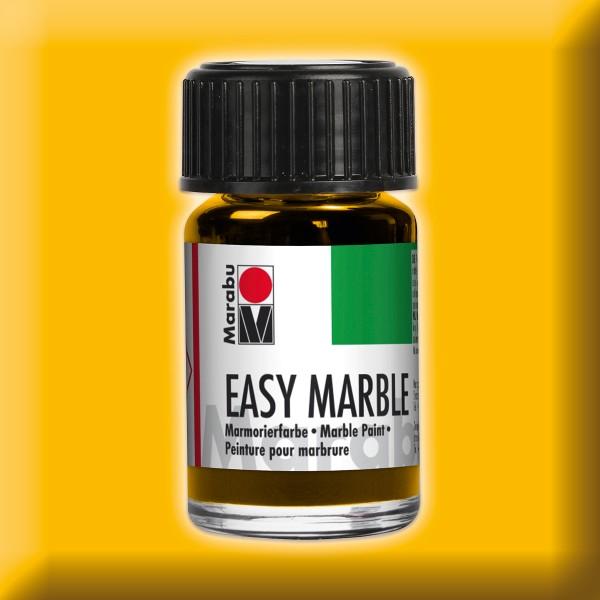 Easy Marble 15ml mittelgelb Marmorierfarbe