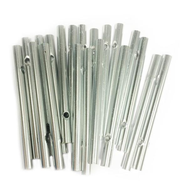 Klangstäbe Aluminium 6mm 7cm 20 St. voll
