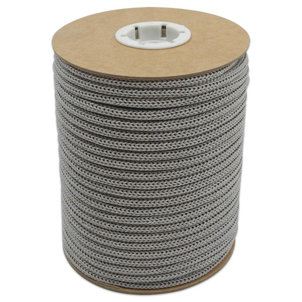 Makramee-Garn - Kordel aus Papier 4mm 30m grau aus recyceltem Material