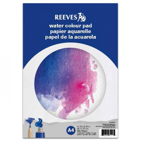 Reeves Aquarellblock DIN A4 12 Bl. 190g/m²