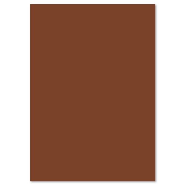 Tonpapier 130g/m² DIN A4 100 Bl. schokobraun