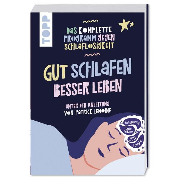 Buch - Gut schlafen besser leben 240 Seiten, 22,2x14,4cm, Softcover