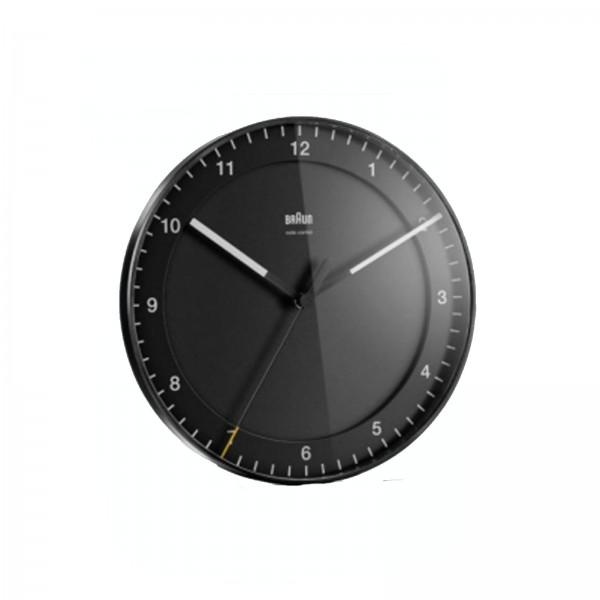 Braun 67094 Funkwanduhr schwarz