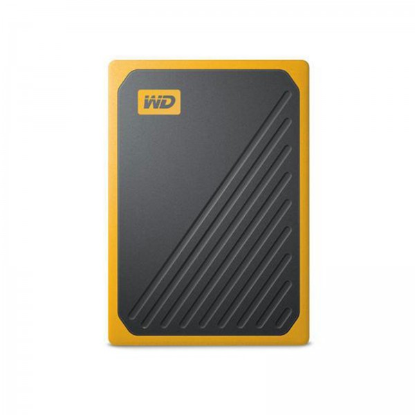 Western Digital My Passport Go 1TB SSD extern USB3.0 schwarz/gelb