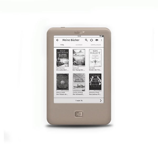 Tolino Page E Book Reader E Ink Display Touchscreen 2GB Speicher WLAN