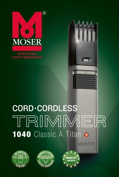 Moser 1040.0460 Classic A Titan