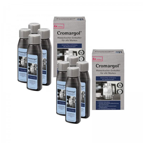 WMF Cormargol Wasserkocher Entkalker 8 x 100 ml (2x 2er Pack)