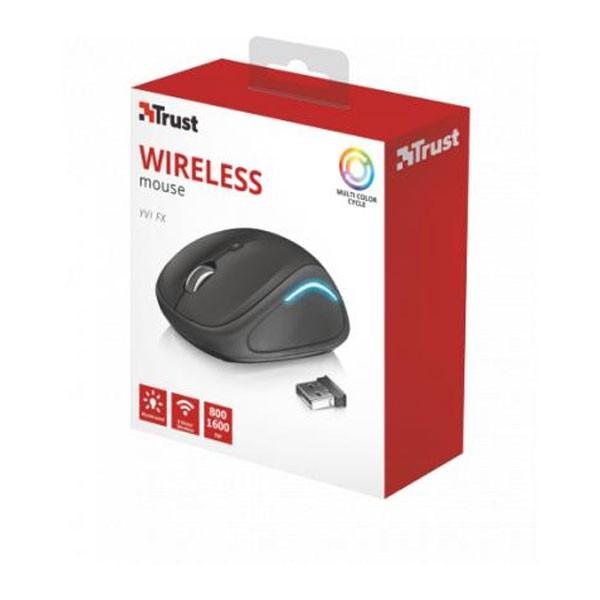 Trust Yvi FX Wireless Mouse Black