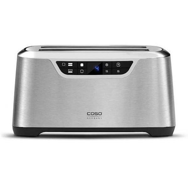 Caso Novea T4 Toaster gebürstetes Edelstahl