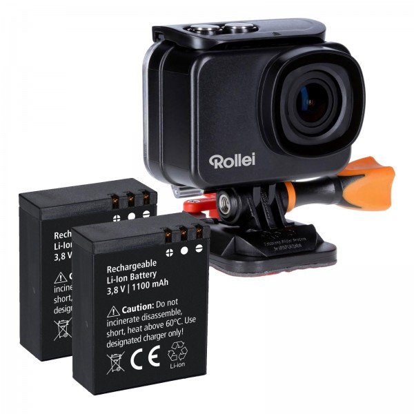 Rollei Actioncam 560 Touch + 2 Zusatzakkus